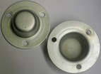 Replate Rear Wheel Bearing Cap Set